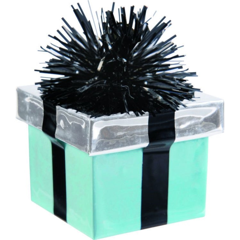 Gift Package Teal Balloon Weight
