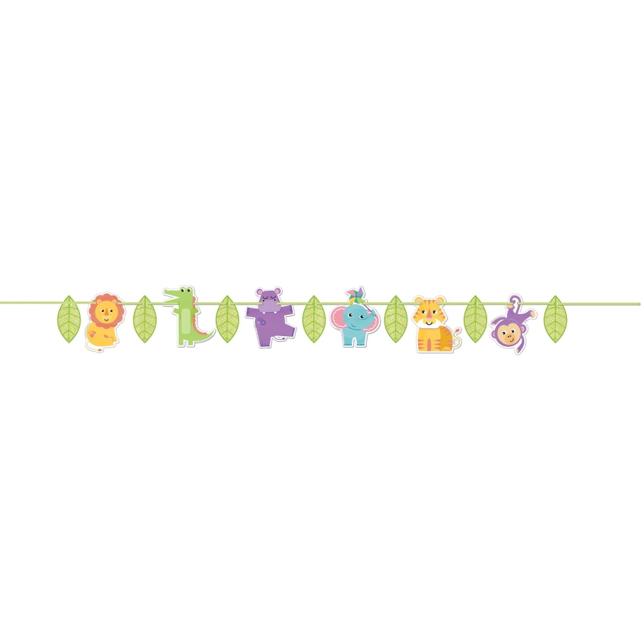 Fisher Price Hello Baby Letter Banner - Party Savers