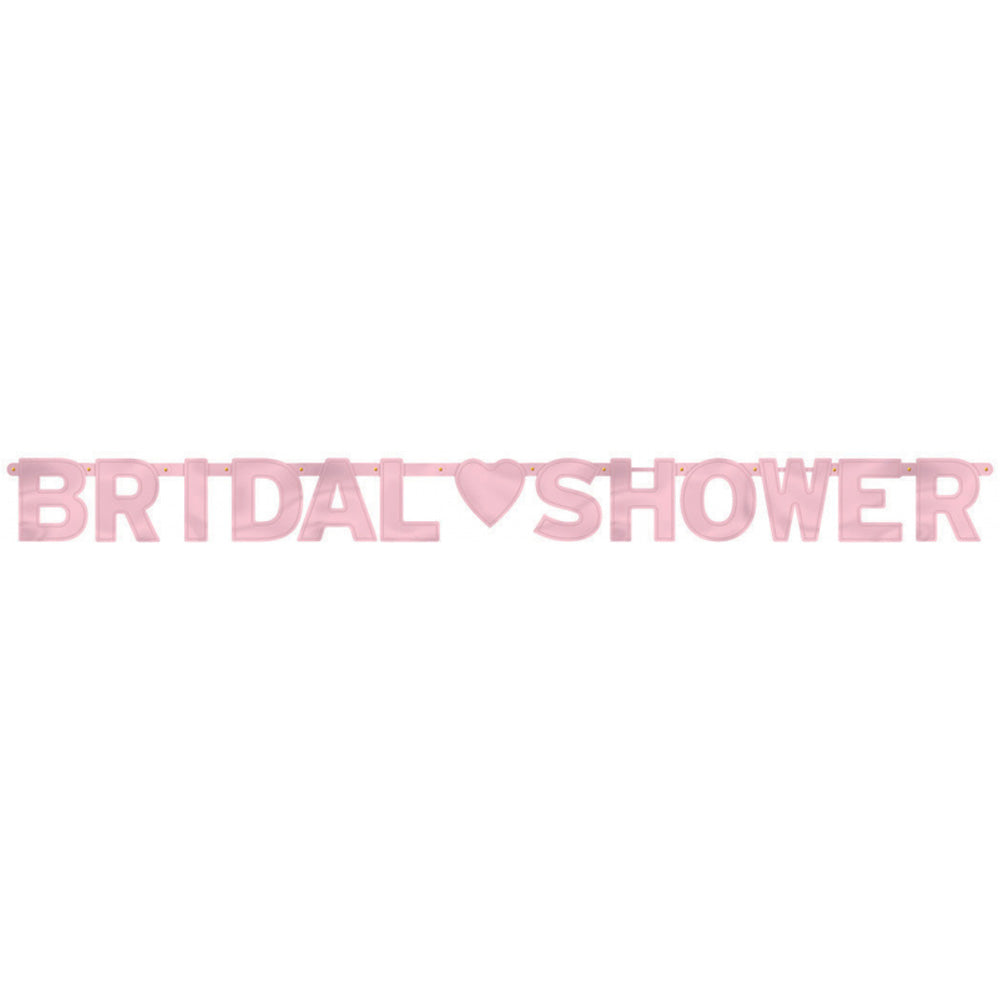Bridal Shower Letter Banner