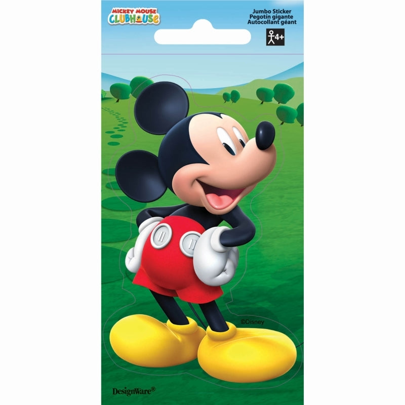 Mickey Mouse Stickers Jumbo Favor - Party Savers