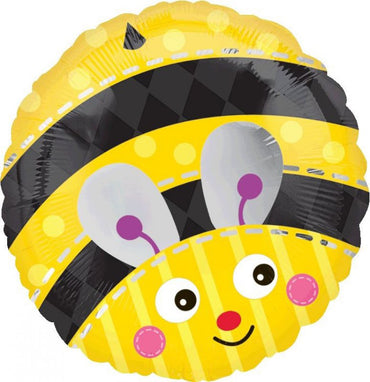 Cute Bumble Bee Foil Balloon 45m
