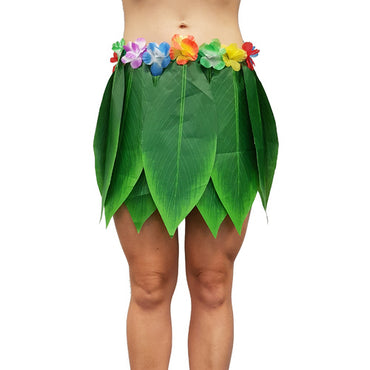Leaf Skirt With Flowers - Party Savers