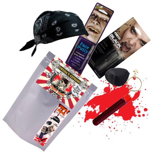 Pirate Ghoul Costume Kit - Party Savers