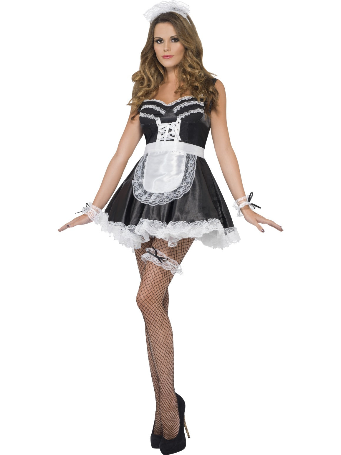 Black French Maid Set