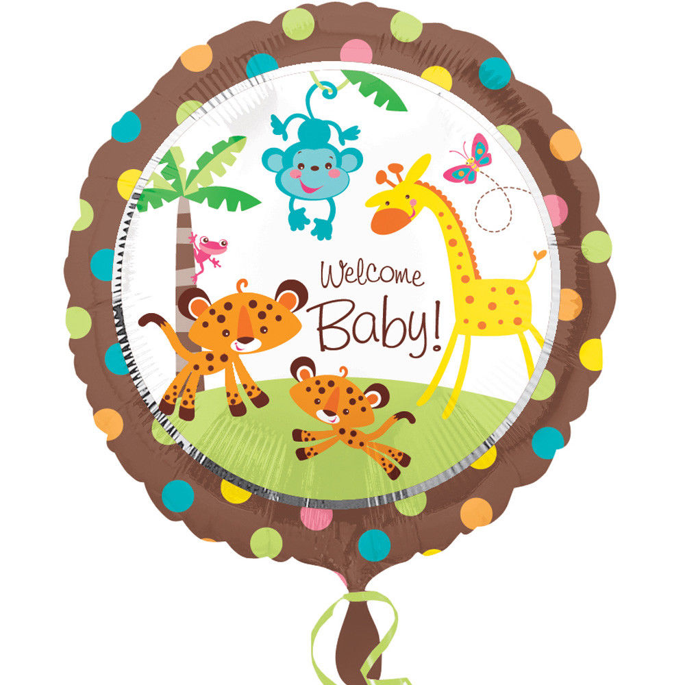 Fisher Price Baby Foil Balloon 45cm - Party Savers