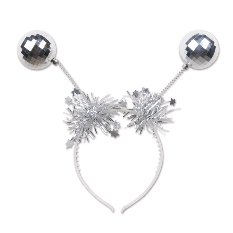 Silver Ball Boppers Each - Party Savers