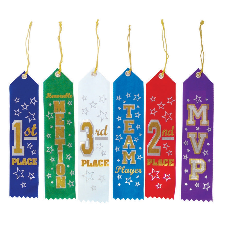 Recognition Ribbons 6pk - Party Savers