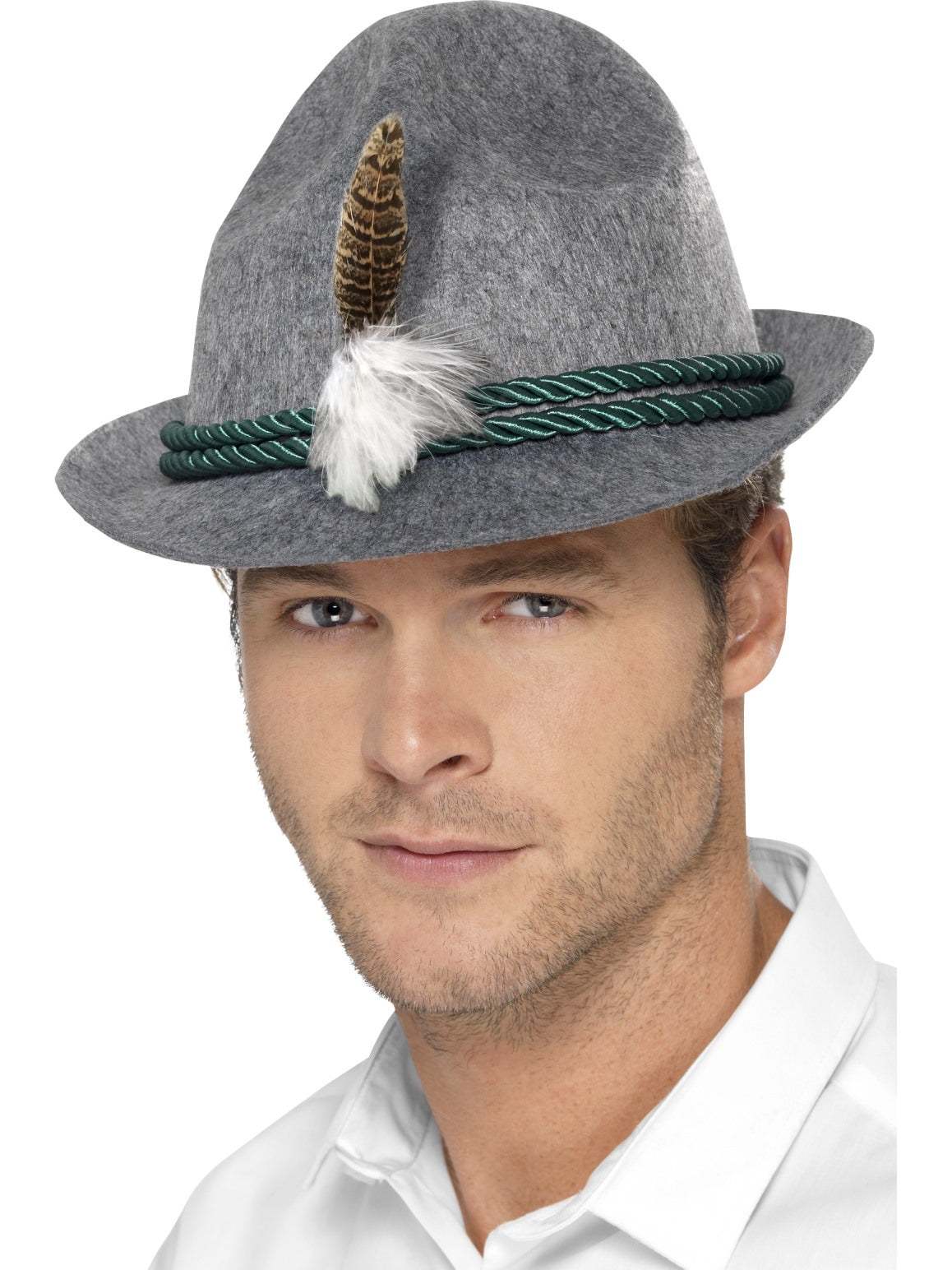 German Trenker Hat with Feather - Party Savers