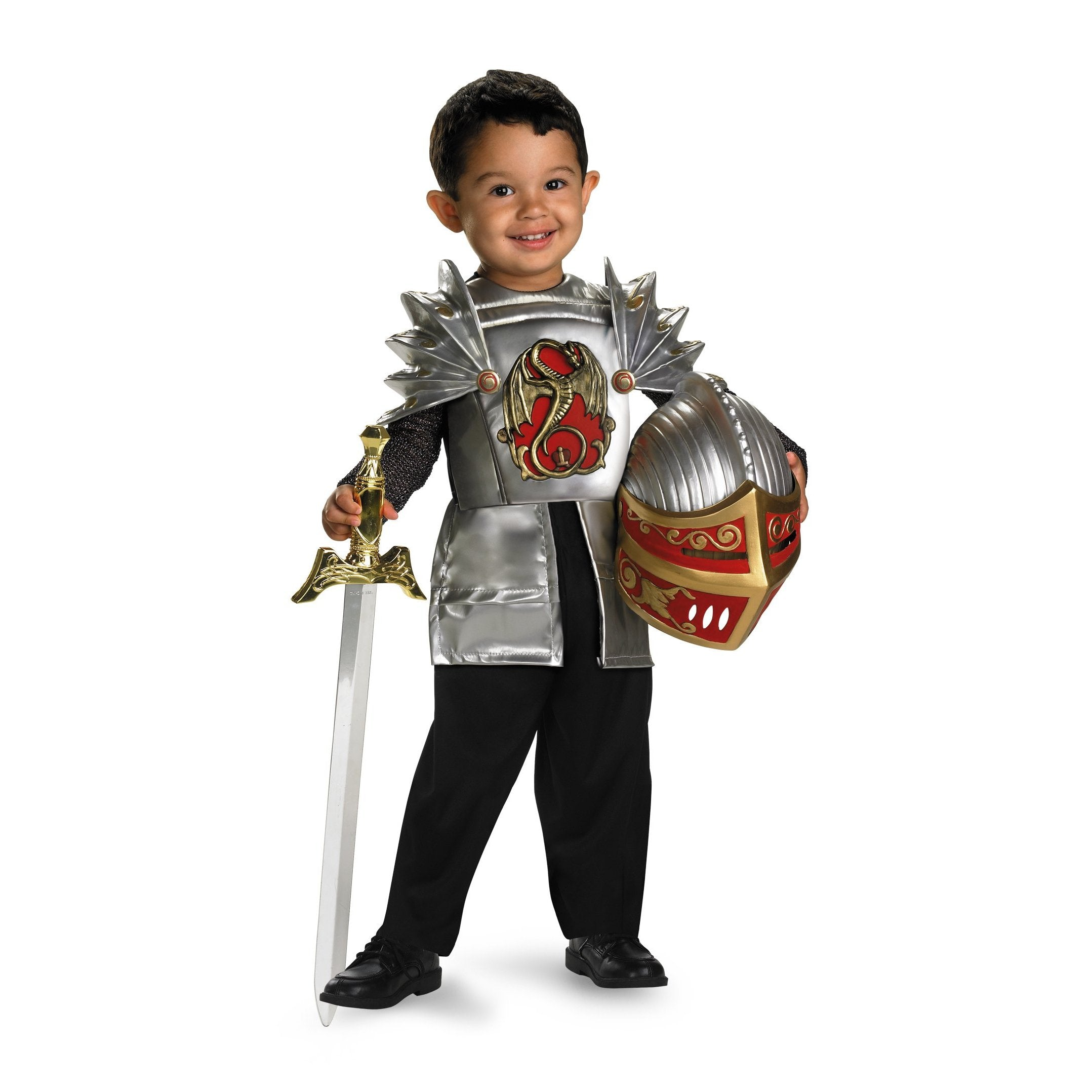 Toddler Costume - Knight of the Dragon Toddler Costume - Party Savers