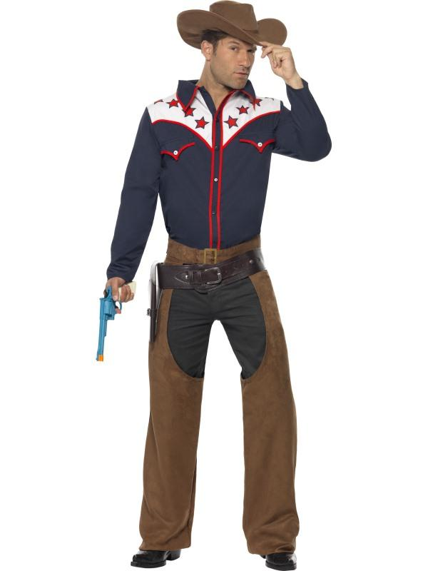 Mens Costume - Rodeo Cowboy