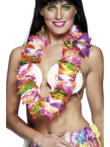 Multi Coloured Hawaiian Lei