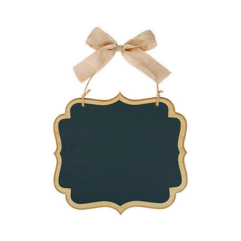 Chalkboard Sign MDF Large Marquee Sign With Twine Bow Hanger