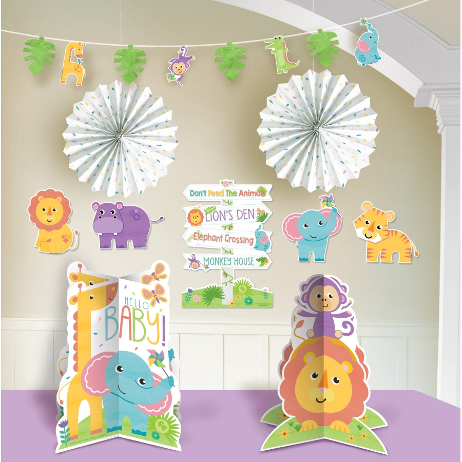 Fisher Price Hello Baby Room Decorating Kit - Party Savers