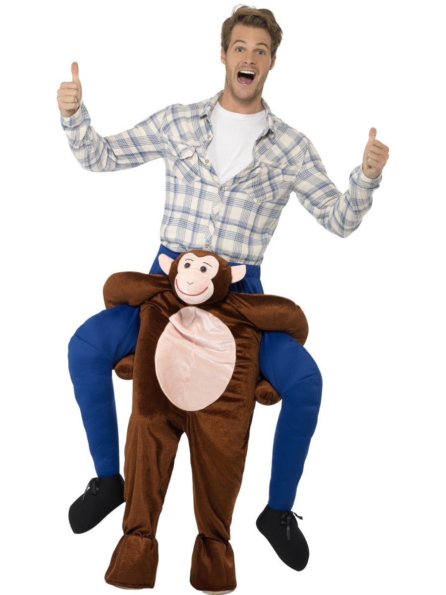 Adult Costume - Piggyback Monkey Costume
