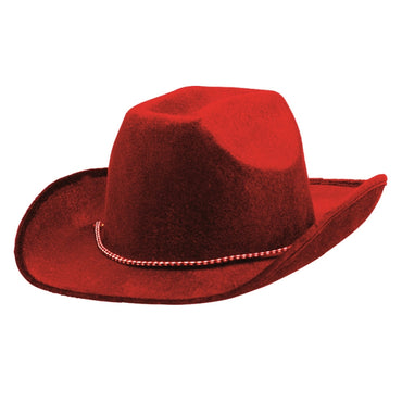 Red Cowboy Hat - Party Savers