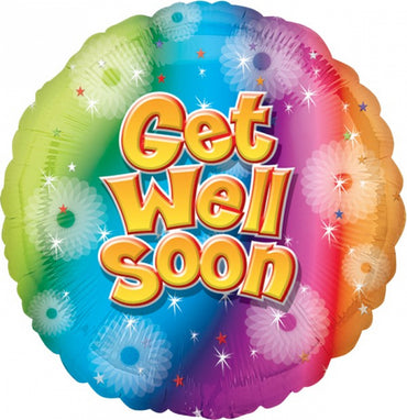 Get Well Soon Foil Balloon 45cm
