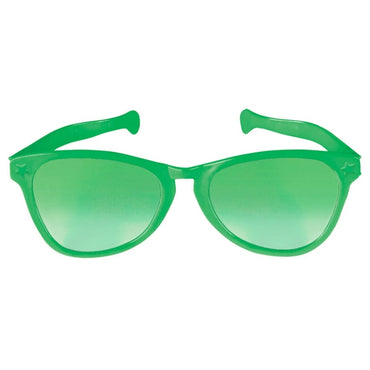 Green Jumbo Glasses - Party Savers