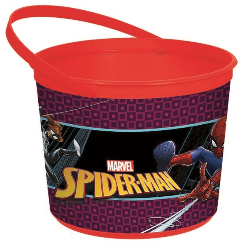 Spider-Man Webbed Wonder  Container - Party Savers