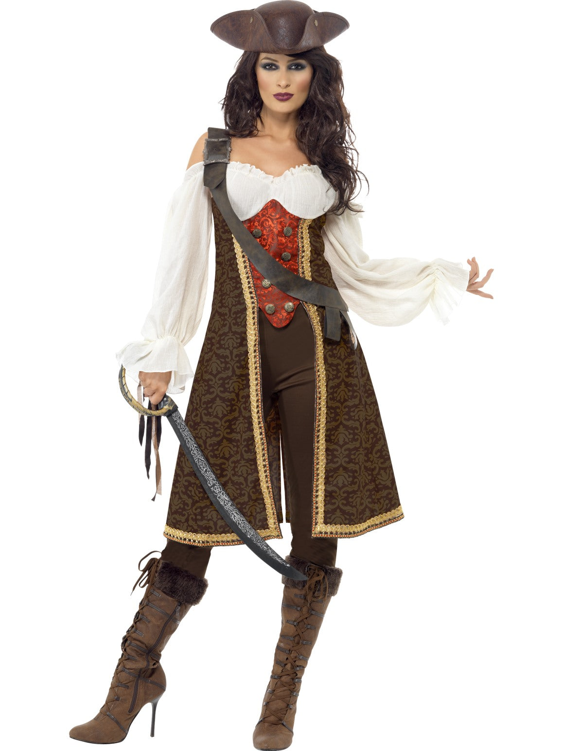 Womens Costume - High Seas Pirate Wench