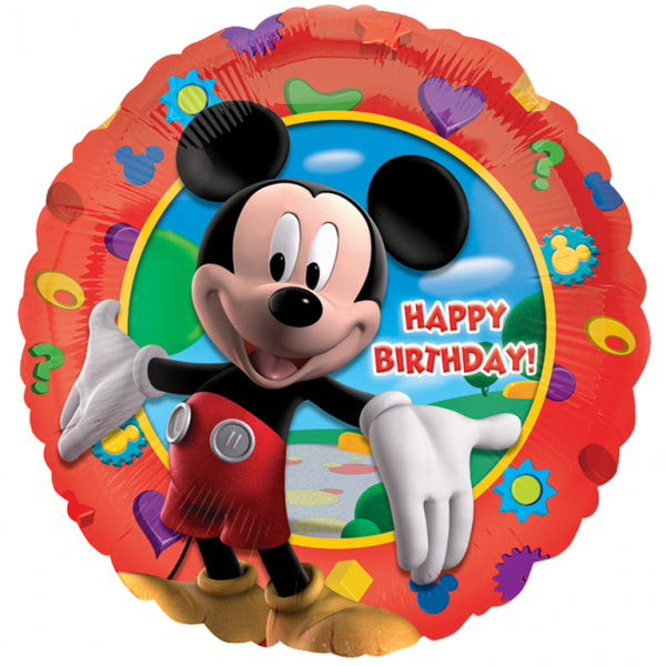 Mickeys Clubhouse Happy Birthday Foil Balloon