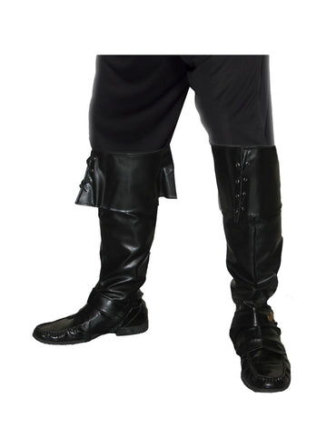 Black Pirate Bootcovers - Party Savers