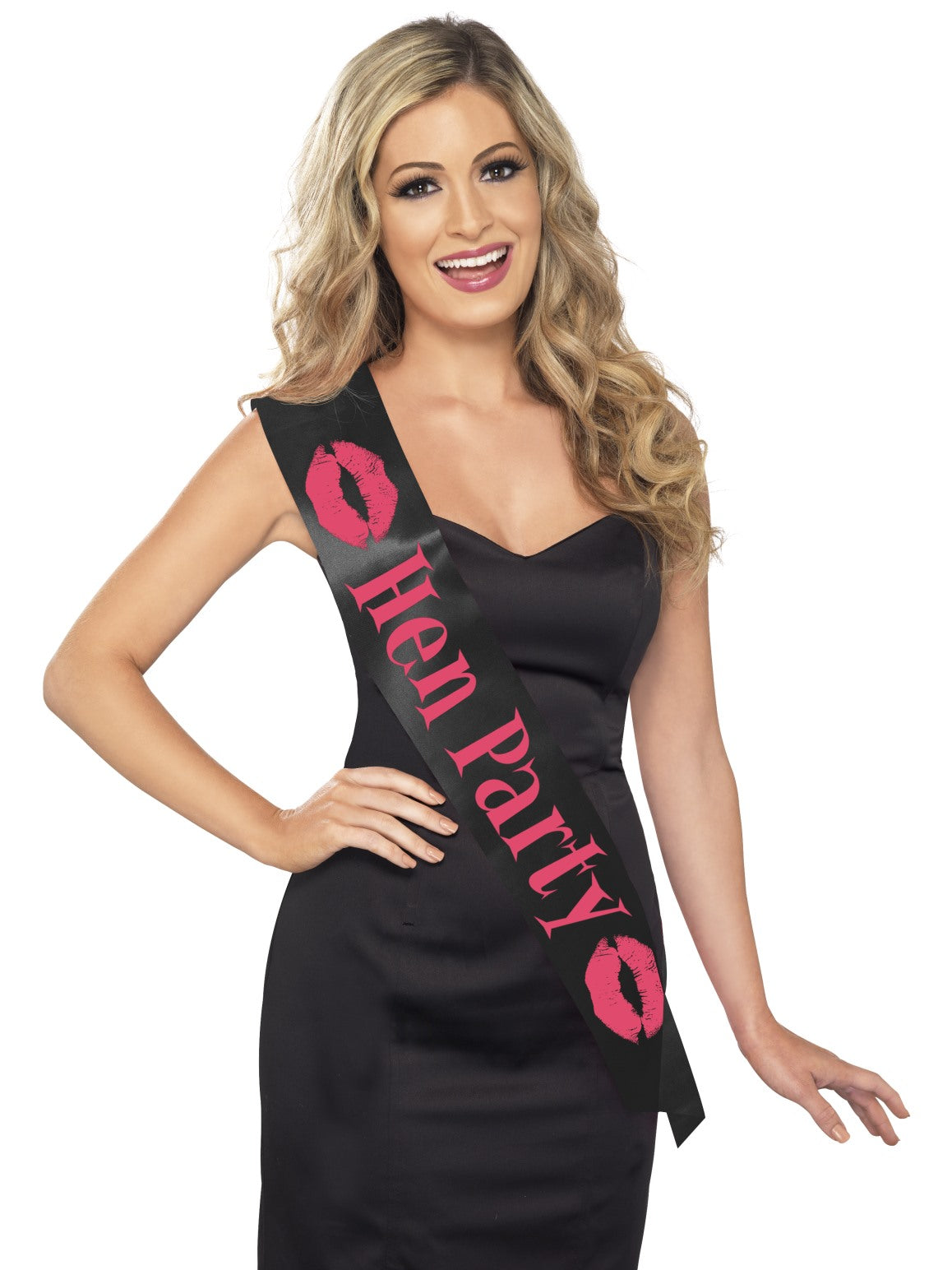 Black Hen Party Sash - Party Savers