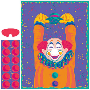 Pin Nose Clown Game