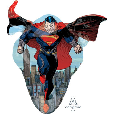 Man of Steel SuperShape Foil Balloon