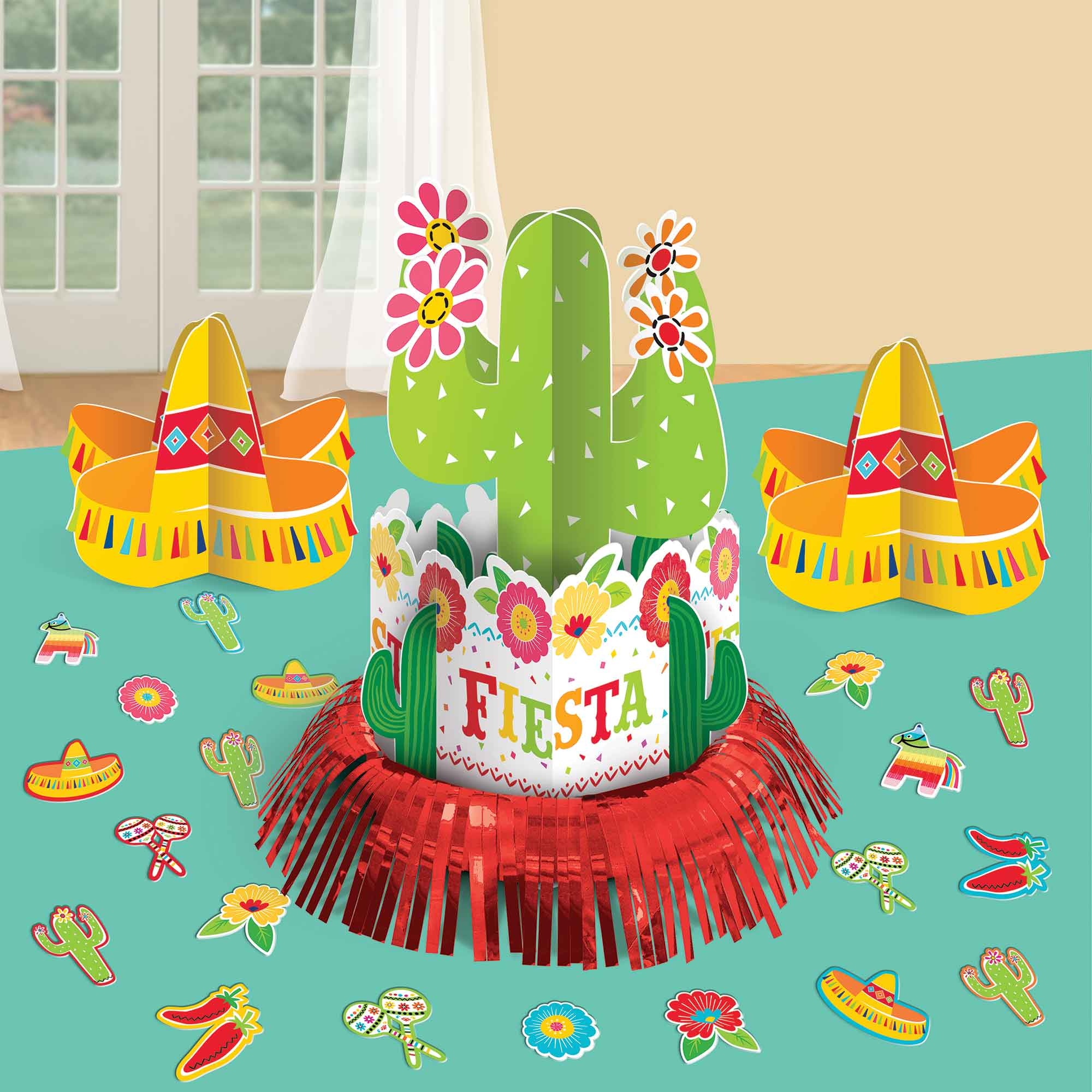 Fiesta Table Decorating Kit - Party Savers