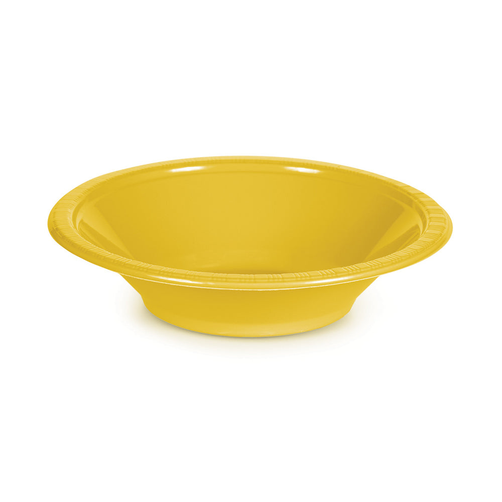 Red Plastic Bowls 355ml 20pk - Party Savers