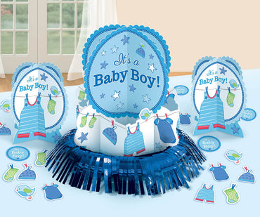 Shower with Love Boy Table Decorating Kit