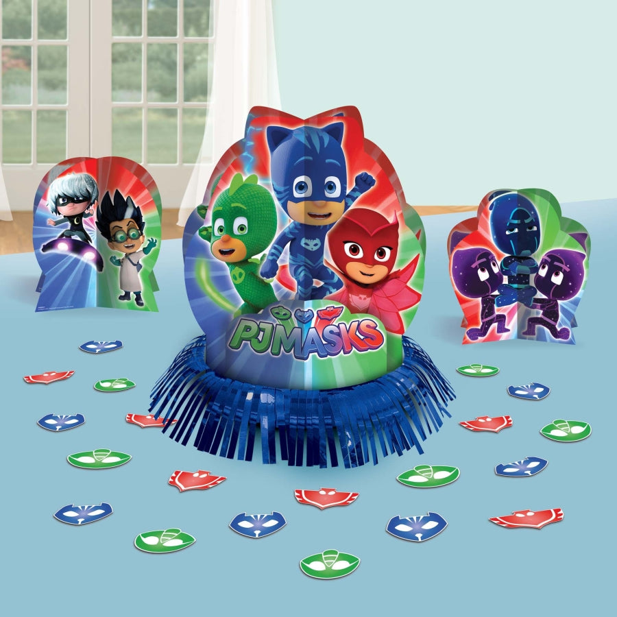 PJ Masks Table Decorating Kit - Party Savers