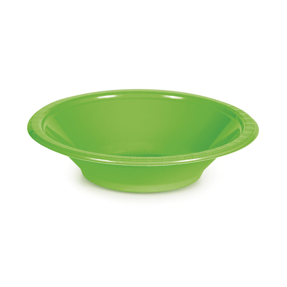 Black Plastic Bowls 355ml 20pk