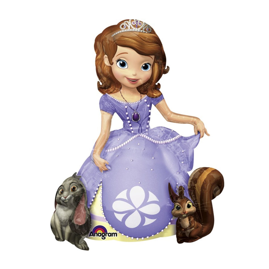 Sofia The First Airwalker Foil Balloon 93cm x 121cm