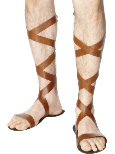 Brown Roman Sandals - Party Savers