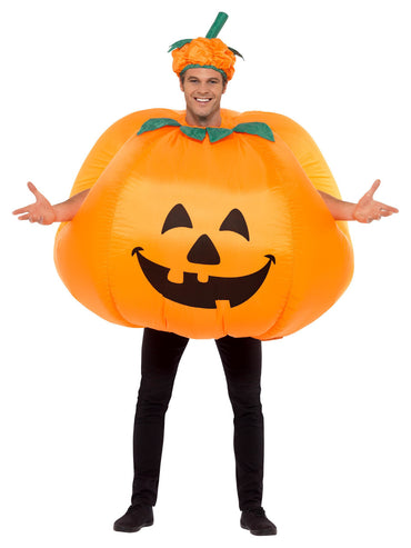 Mens Costume - Pumpkin Inflatable