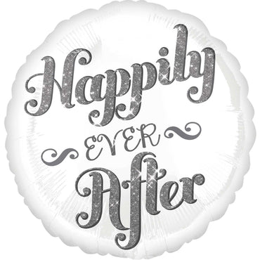 Happily Ever After Shimmer Foil Balloon 45cm