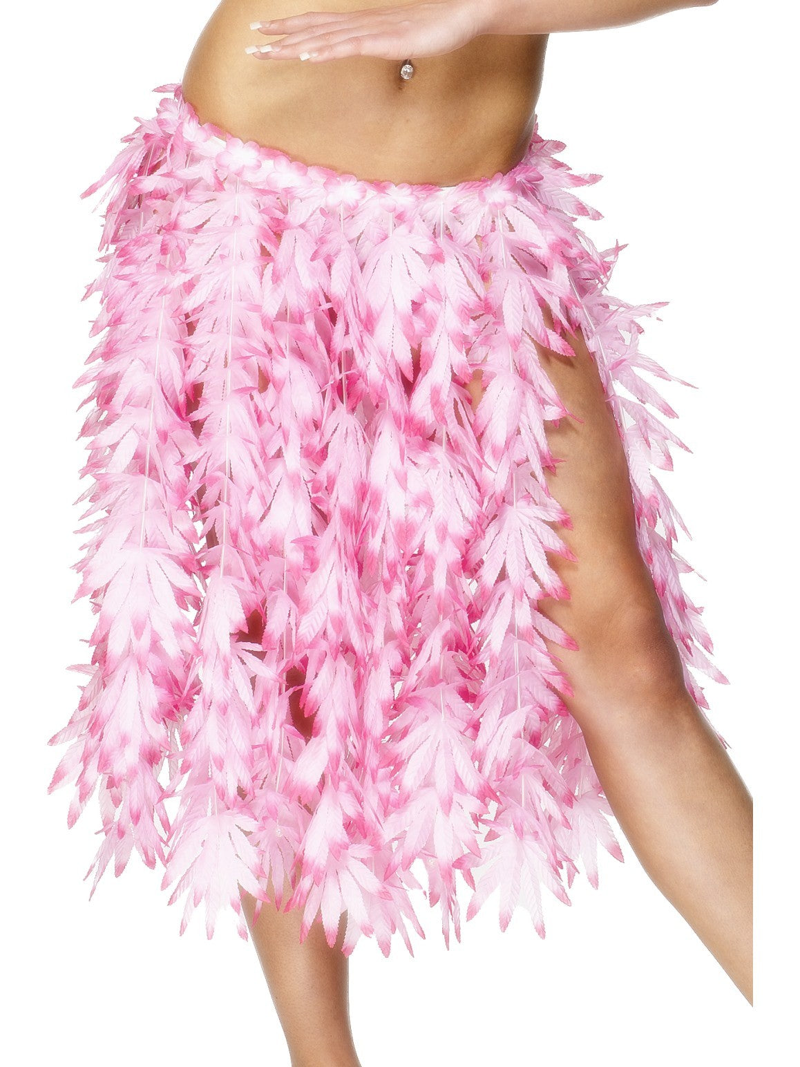 Pink Petal Hawaiian Hula Skirt - Party Savers