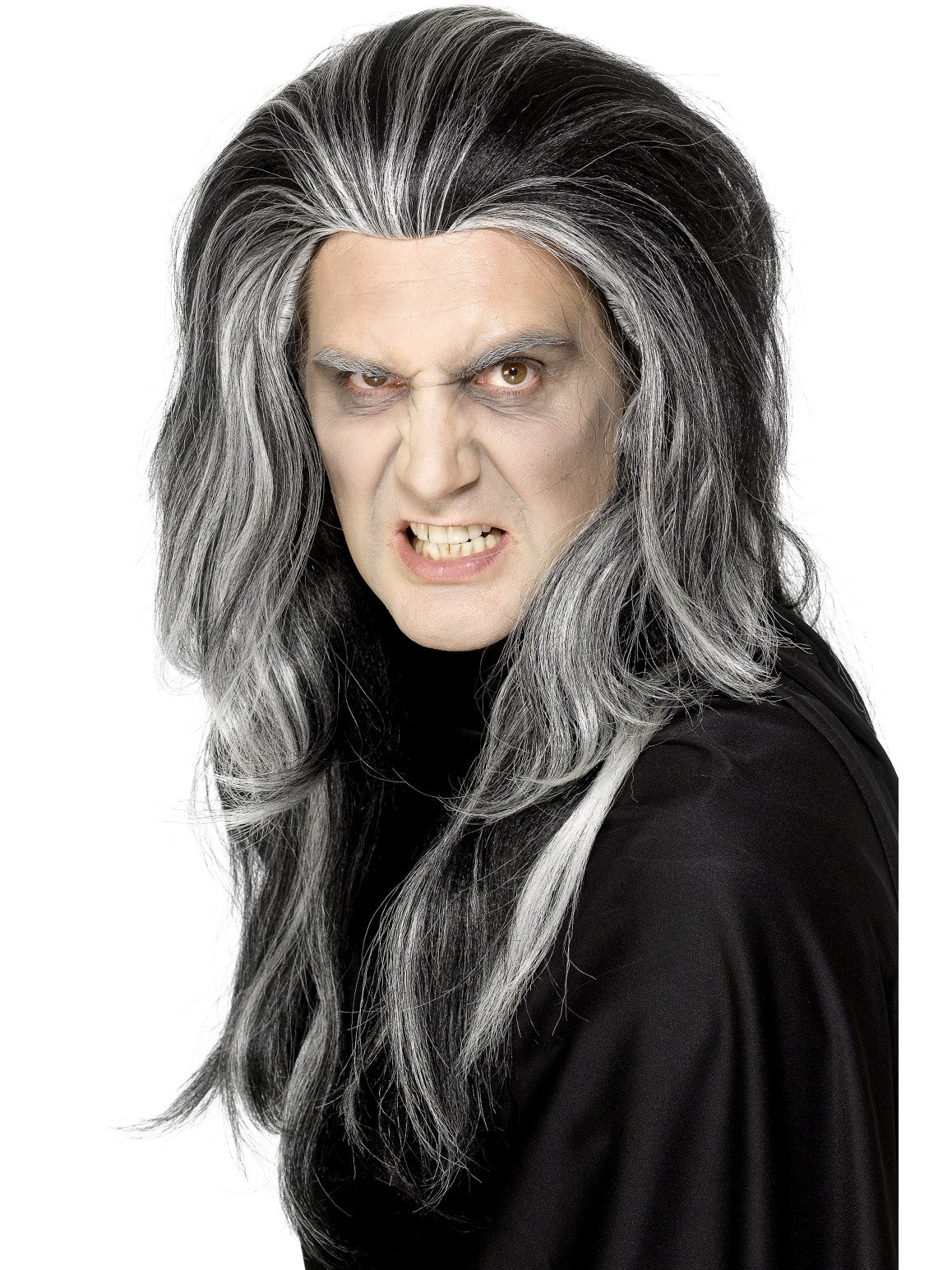 Black Gothic Vampire Wig - Party Savers