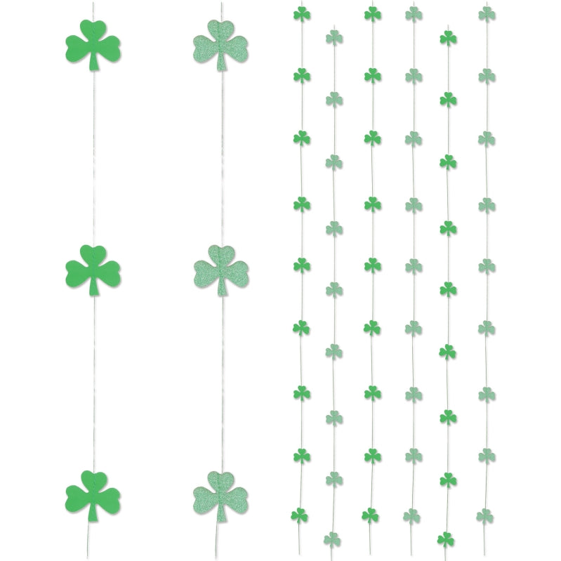 Shamrock Stringers 6in 6pk - Party Savers