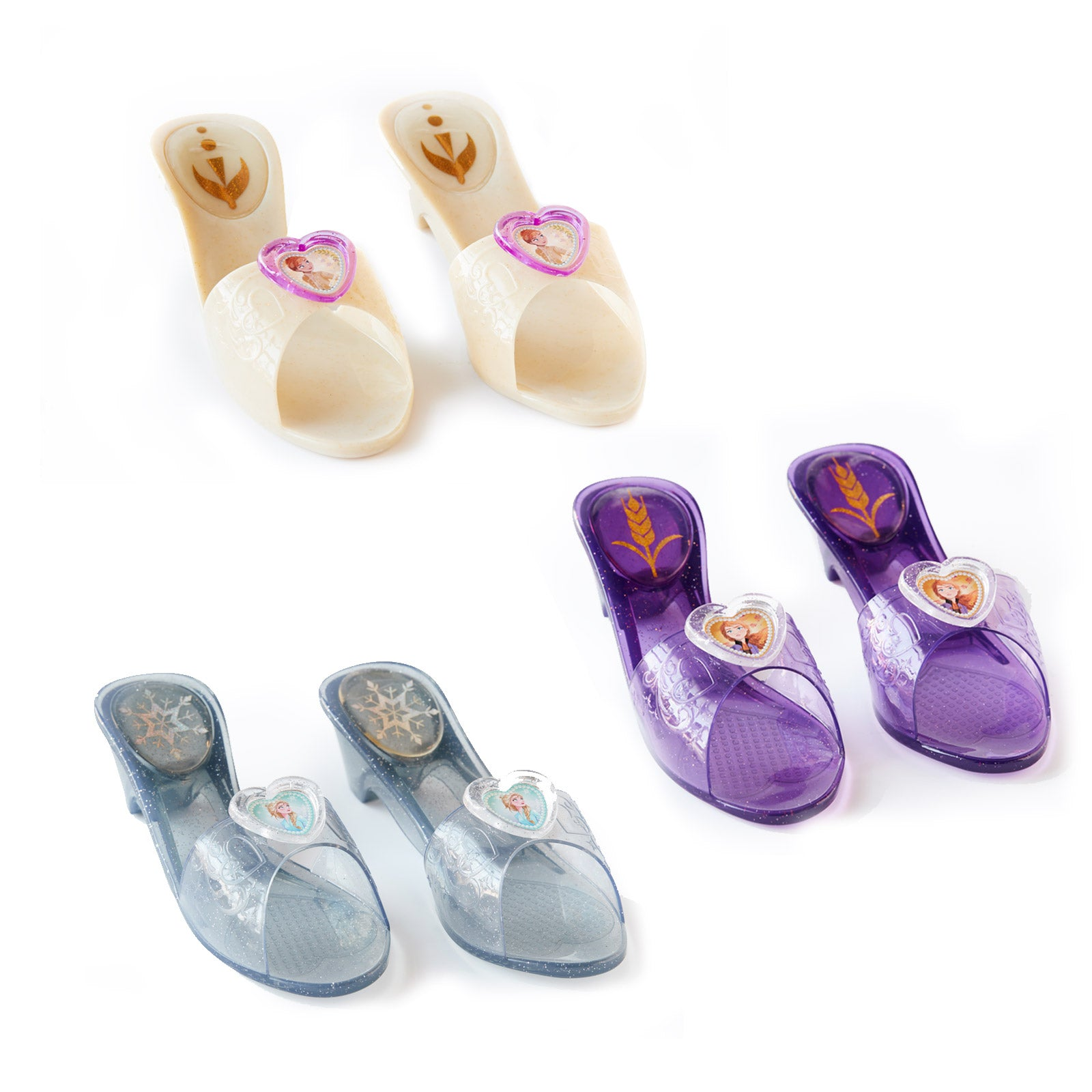 Kids Costume - Frozen 2 Trio Set Jelly Shoes - Child - Party Savers