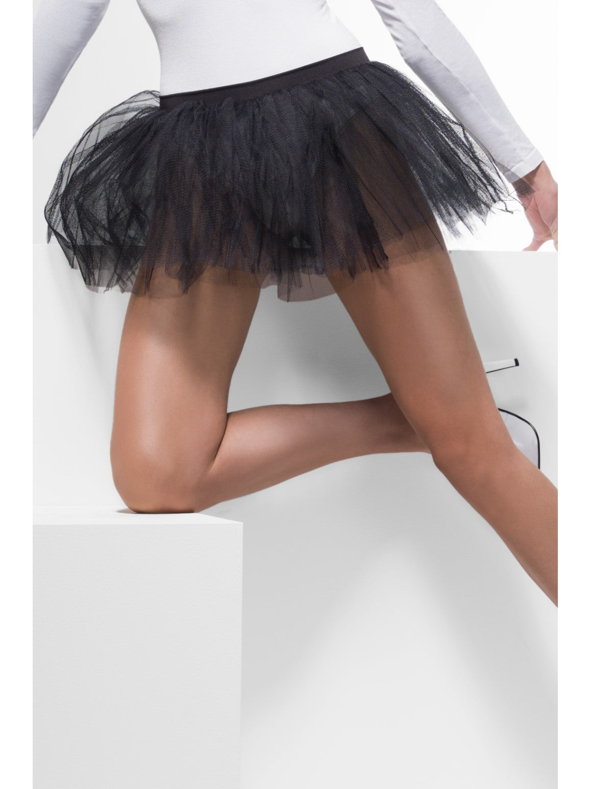 Black Tutu Underskirt - Party Savers