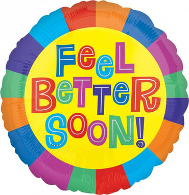 Feel Better Soon Foil Balloon 45cm