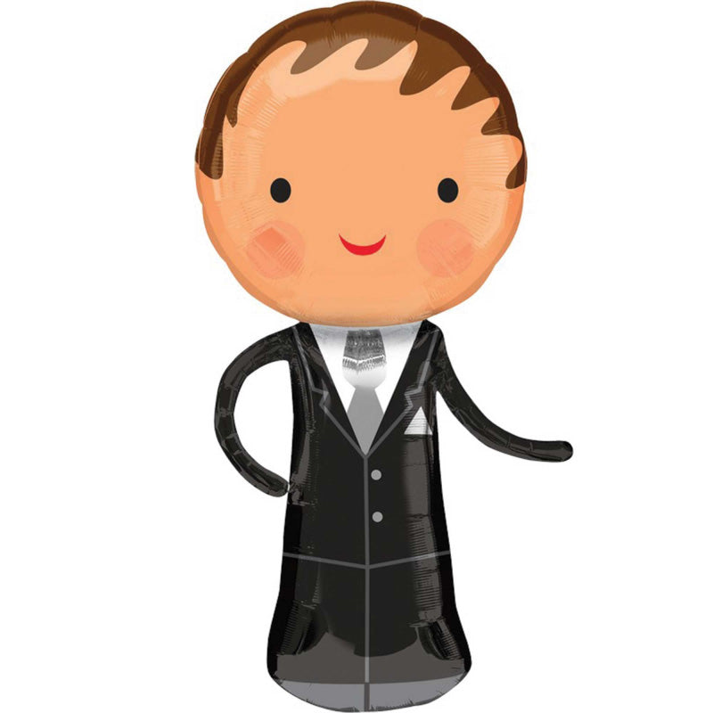 Handsome Groom SuperShape 48cm x 101cm Each - Party Savers