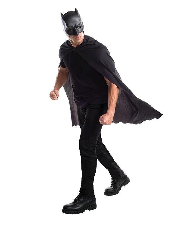Batman Cape And Mask Set - Size Std