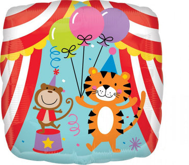 Circus Theme Foil Balloon 45cm - Party Savers