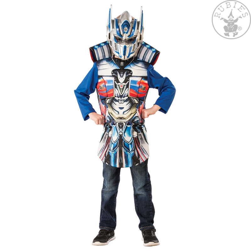 Boys Costume - Optimus Prime Flip N Reveal Deluxe Top