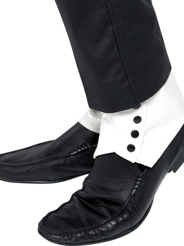 Gangster Shoe Spats - Party Savers