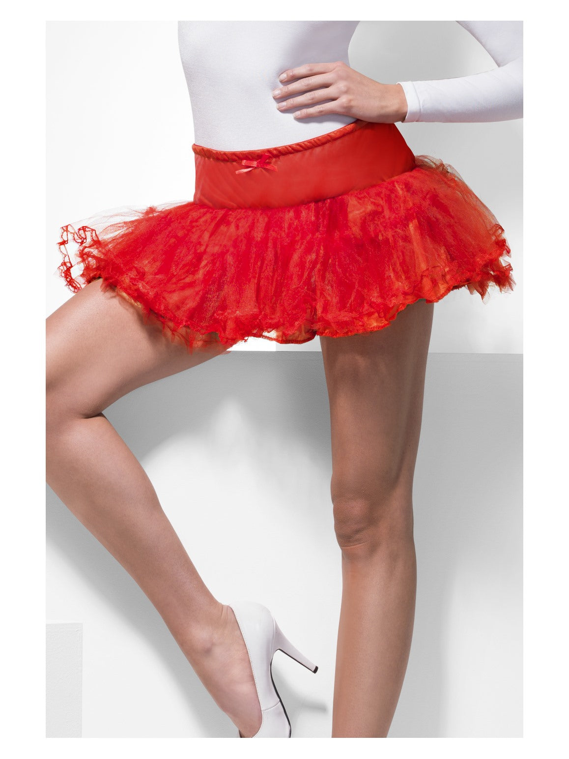 Red Tulle Petticoat - Party Savers