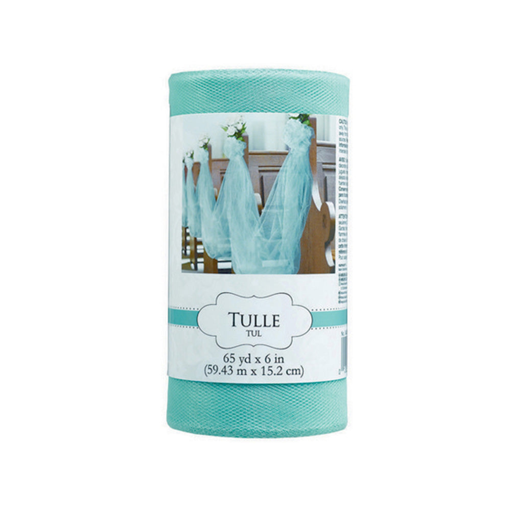 Robin Egg Blue Tulle Spool - Party Savers